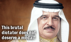 Brutal Dictators Do Not Deserve Medals