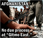 Afghanistan No Due Process