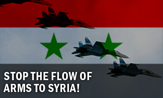 Stop the Flow of Arms to Syria!